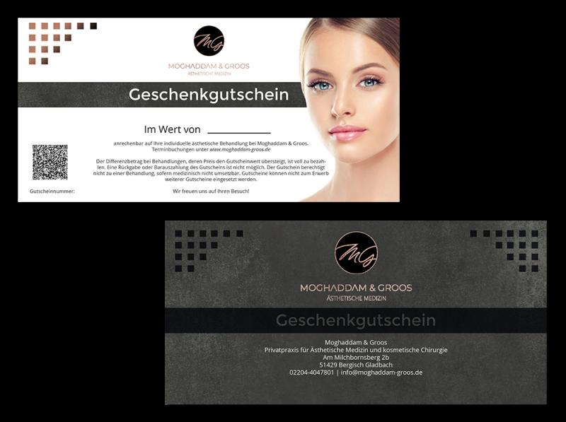 MG Kosmetik Shop Geschenkgutscheine neu